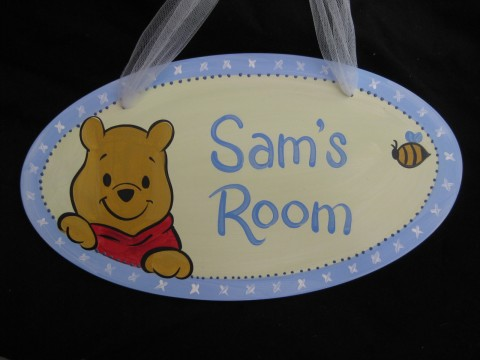 Door Sign Pooh