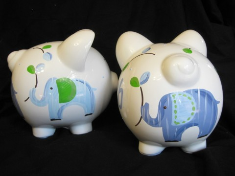 Piggy Bank Eli the Elephant