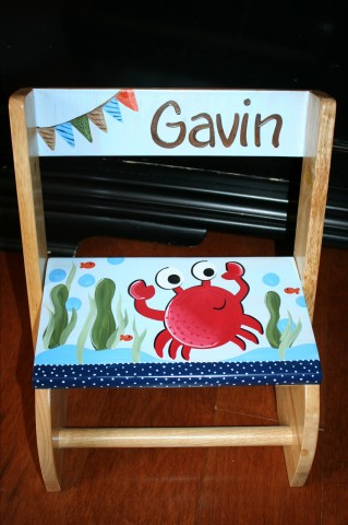 Chair Flip Step Stool Gavin Crab