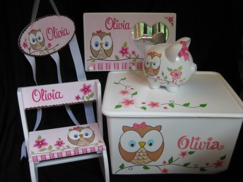 Happy Owl Gift Set