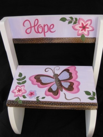 Chair Flip Step Stool Emily