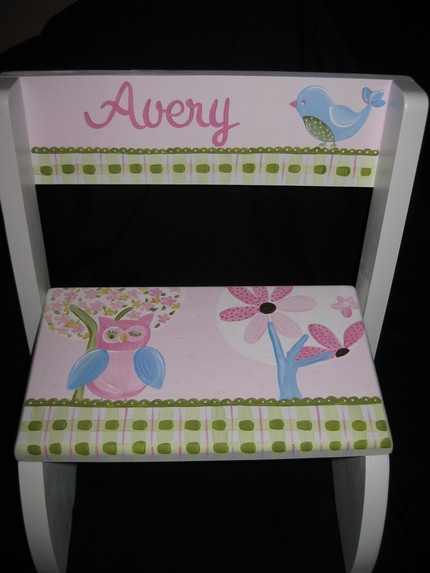 Chair Flip Step Stool Brooke Design