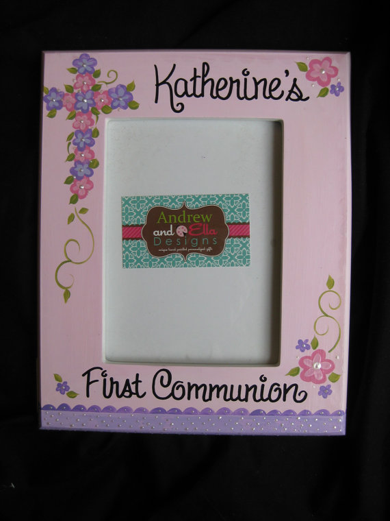 Picture Frame 5x7 Communion Katherine