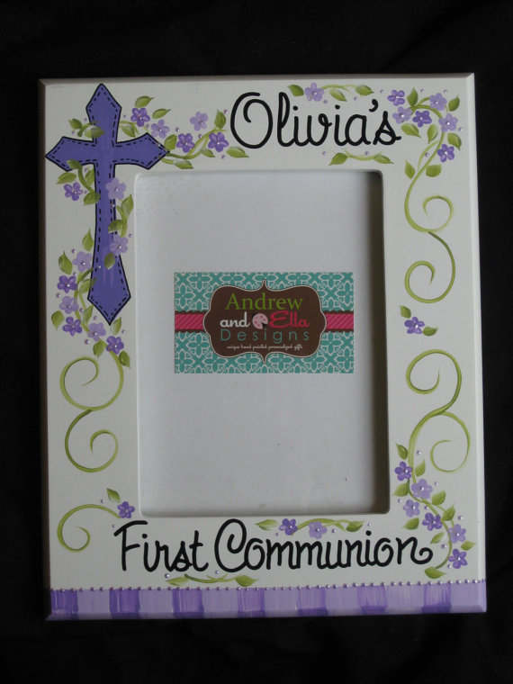 Picture Frame 5x7 Communion Purples