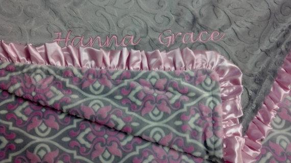 Minky Blanket Hanna