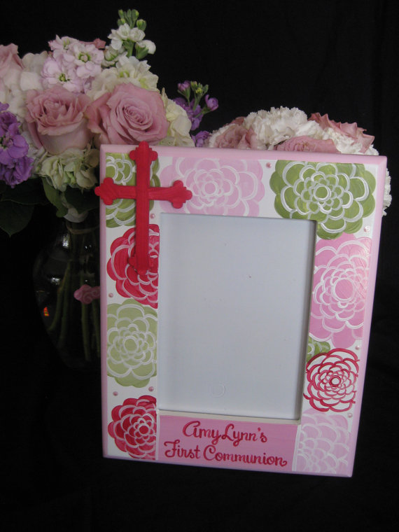 Picture Frame 5x7 Communion Amy