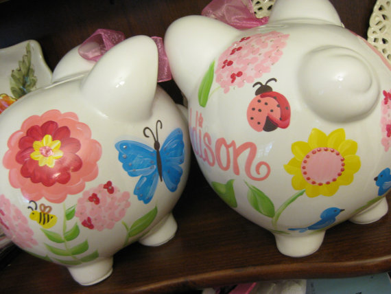 Piggy Bank Garden fun