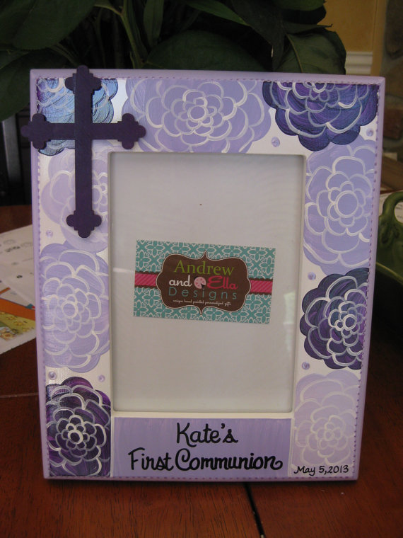 Communion Purple Amy Picture frame 5x7