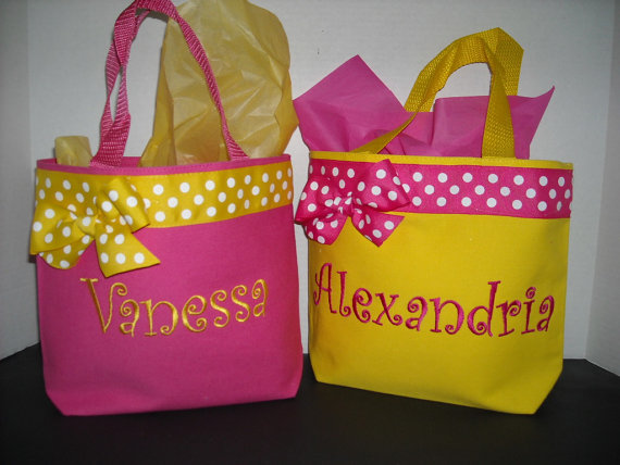 Personalized Small Tote Bag you choose color