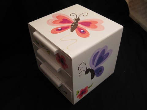 Jewelry Box Bling Butterfly
