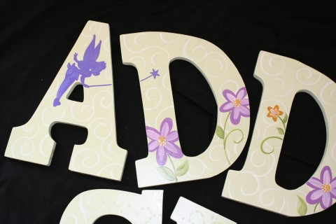 Wall letters Tink Inspired