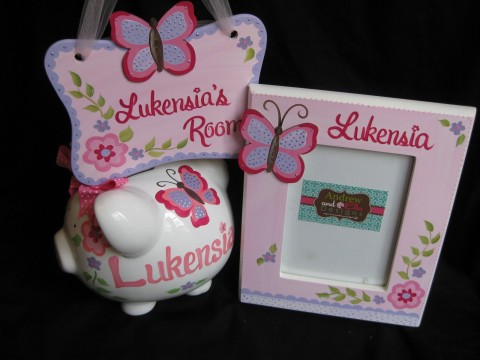Gift Set Pink and Purple Gia
