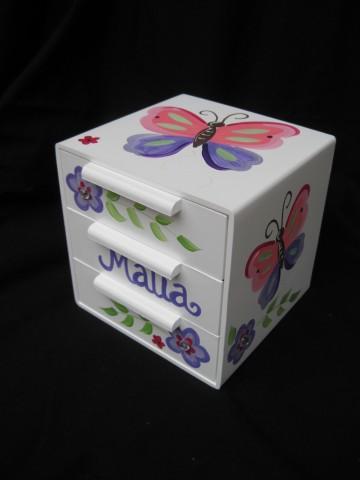 Jewelry Box Malia Butterfly