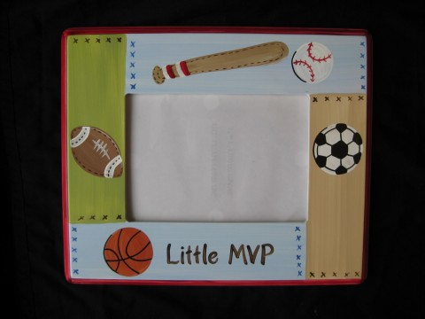 Picture Frame 5x7 Mvp Sports Frame