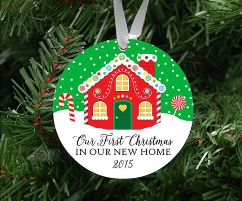 Holiday Ornament Candy House