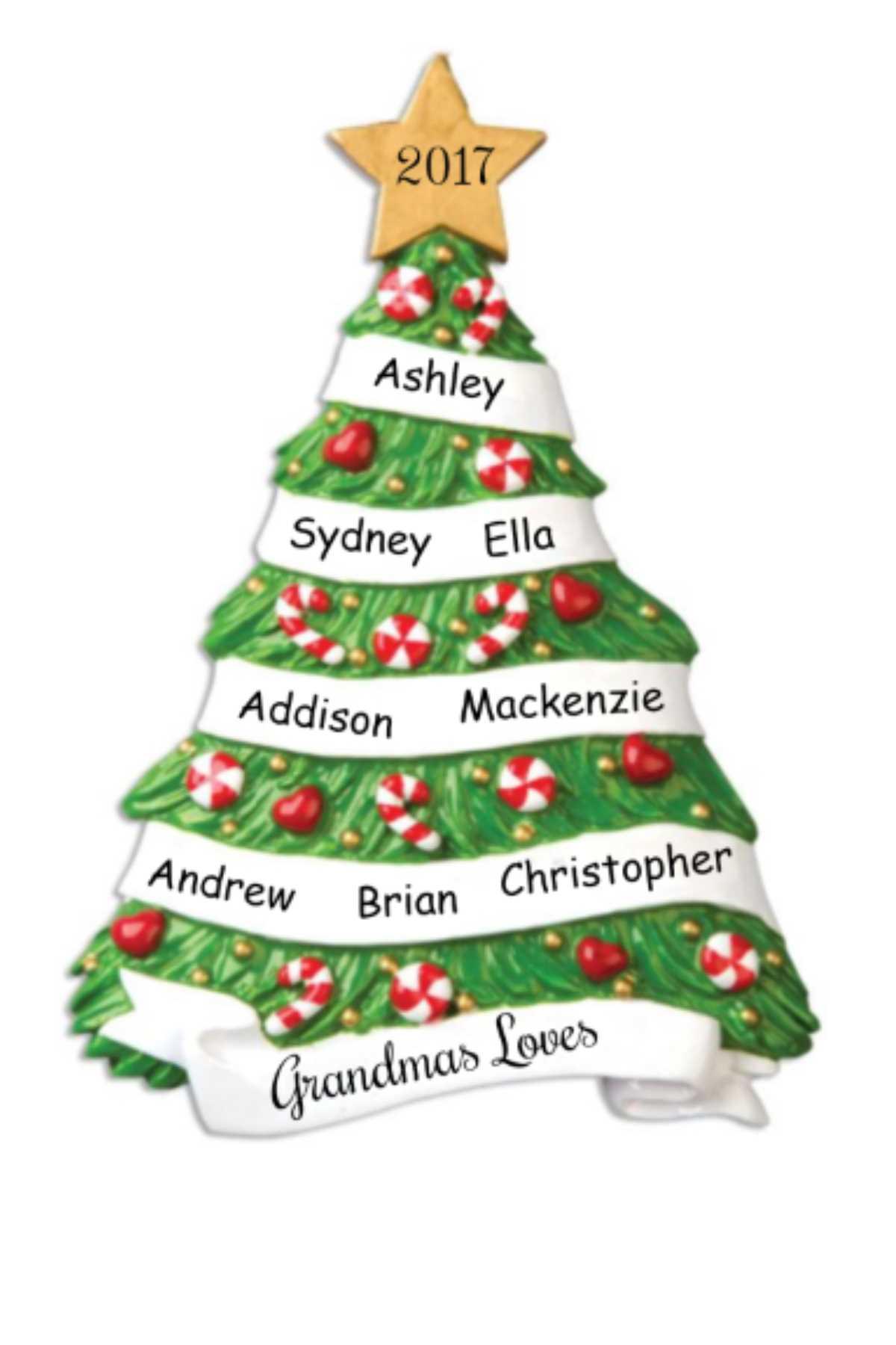 Ornament Grandparent Tree