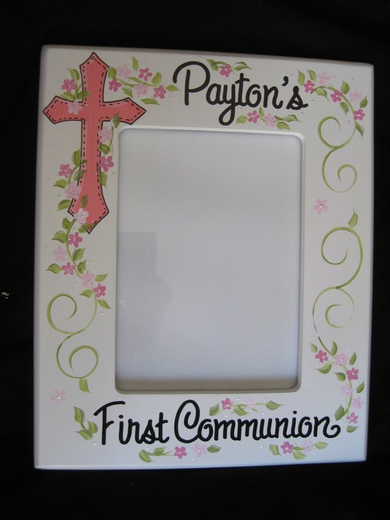 Picture Frame 5x7 Communion Payton Design