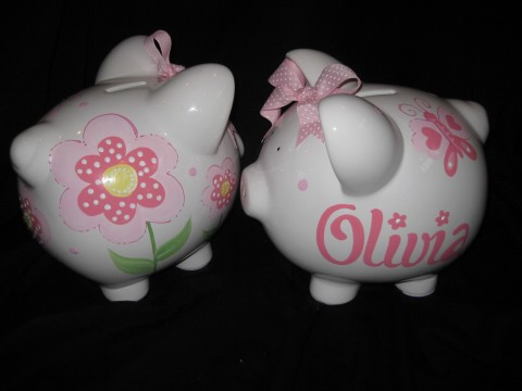 Piggy Bank Spring Bouquet