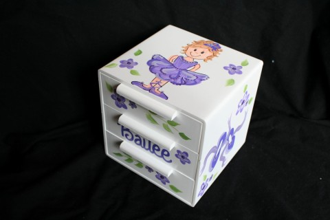 Jewelry Box Purple Bling Ballerina