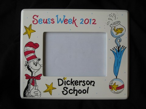 Picture Frame 5x7 seuss