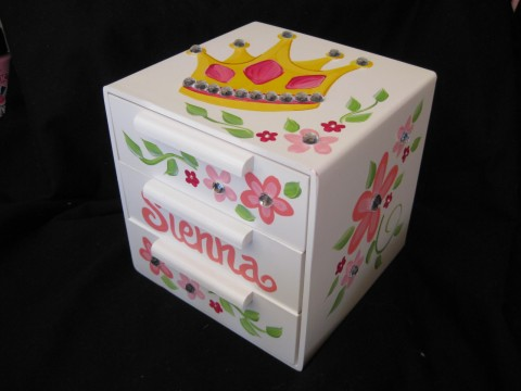 Jewelry Box Sienna Crown