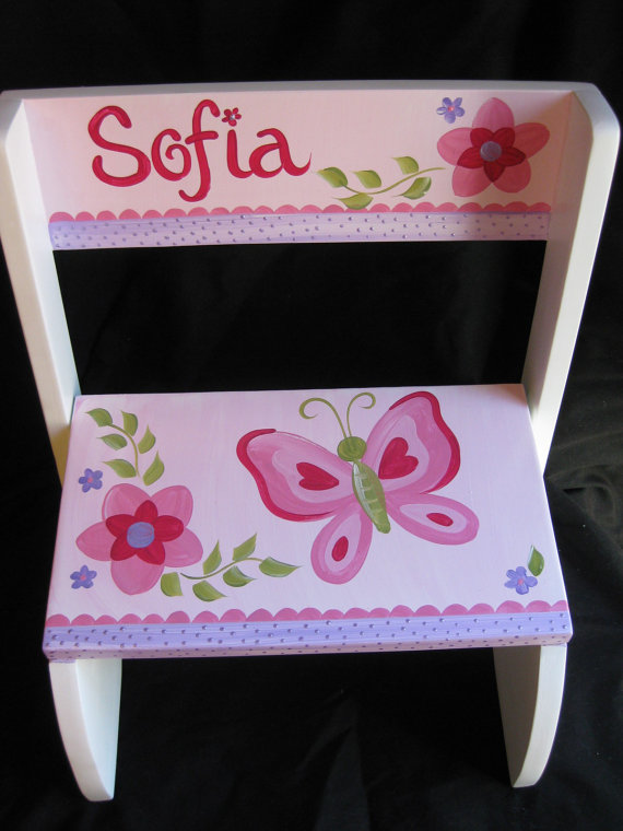 Chair Flip Step Stool Sofia