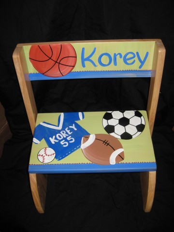 Chair Flip Step Stool Sports Korey