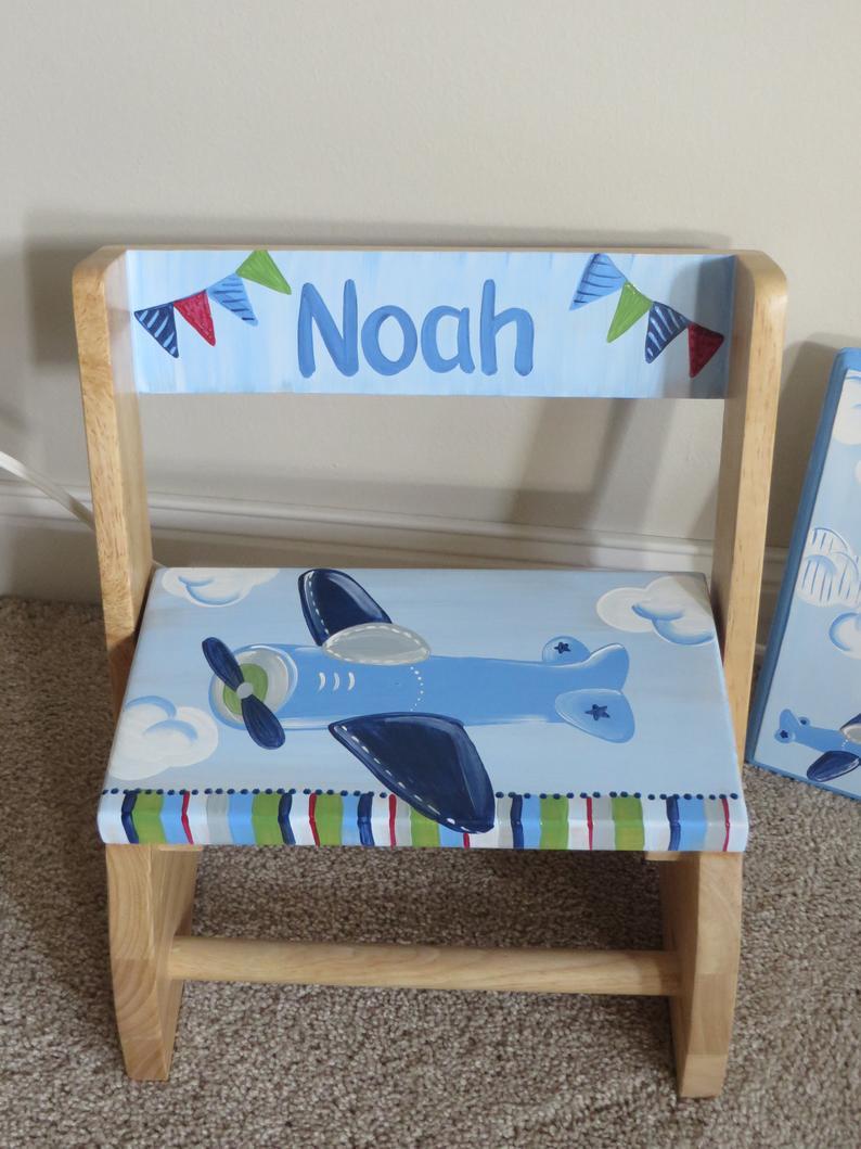 Chair Flip Stool Airplane Banner