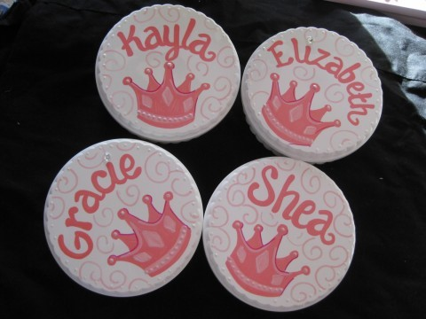 Trinket Box Princess Crowns