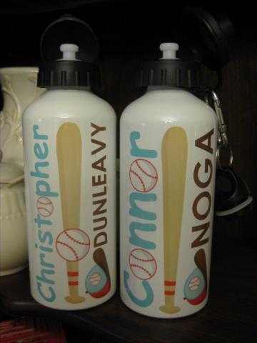 Water Bottle Baseball
