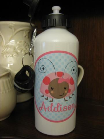 Water Bottle Addison Ladybug