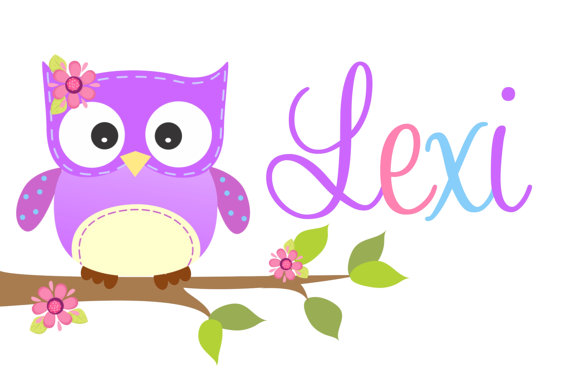 Personalized Pillowcase Purple Owl